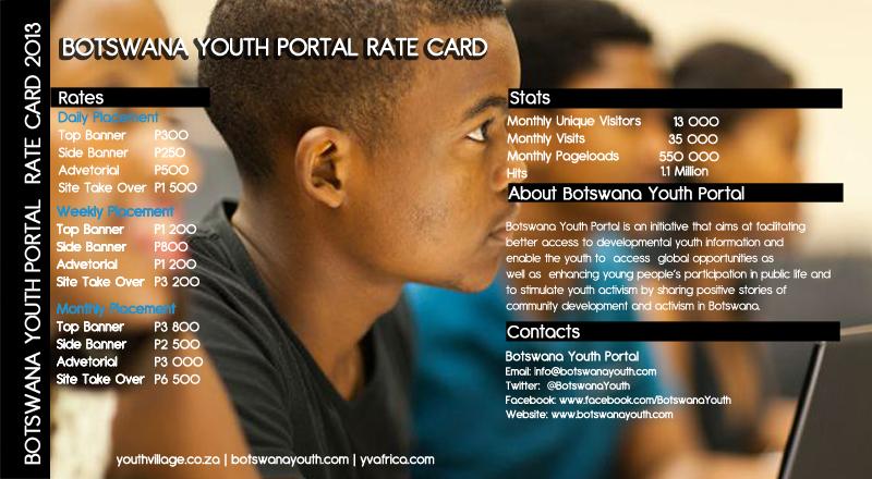 Botswana 2013 Rate Card2