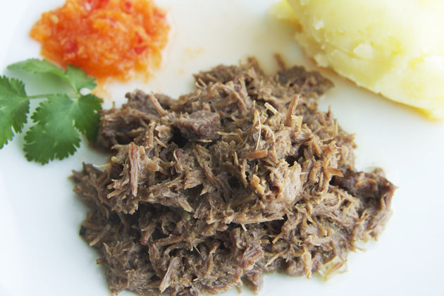 Seswaa(ground meat)